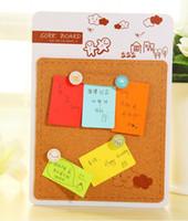 Cork cork board - new design fashion Hanging type Photo wall cork message board fashion cork board