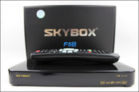 Wholesale Original Skybox F5S HD full p Skybox F5S satellite receiver support usb wifi youtube youpron free shiping