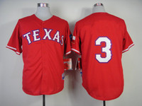 Free Shipping Texas #3 Russell Red 2014 Jersey Baseball Cool...