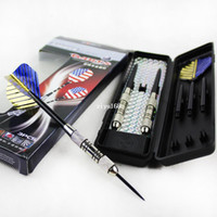 Wholesale professional grams steel tip darts iron dart wish aluminum alloy shaft needle darts high quality set