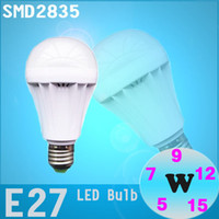 Wholesale Factory directly sale High brightness SMD bulb led bulb lamps E27 W W W W W W V V