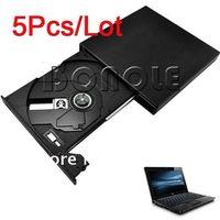 Wholesale Holiday Sale Laptop Desktop Super Slim External USB Portable x CD ROM Drive