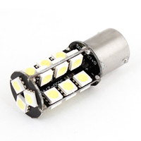 Wholesale 10Pcs P21W BA15S SMD LED Turn Backup Tail Corner Lights DC12V