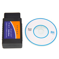 Wholesale ELM327 obd2 wifi wireless Bluetooth car diagnostic tester IPHONE ipad pc Andrews