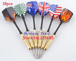 18 PC electrochapan el dardo de la punta de la corriente aerodinámica de cobre de la aguja de cobre que envía libremente