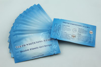 Wholesale 28pcs Teeth Whitening Strips with shade guide tooth whitening products HP Gel Strips Mint Flavor