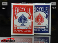 Poker Chips bicycle playing cards - Original Genuine Bicycle Poker Red and Bule Playing Card Old Version