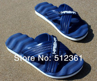 Wholesale 2014 Summer men s slippers home garden shoes fashion cool slippers new flat non slip men s fashion beach shorts shorts men