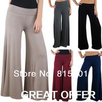 Pants Women Bootcut Free shipping 2014 New Pants,Wide Leg Pants,Yoga Dance Women Pants,Loose Palazzo Bottoming pants,Bing Swing 5 colour leggings