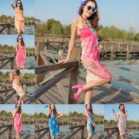 Wholesale 2014 fashion Beach dress bath towel bandana foulard women bikini bathing suit Prevent bask in cape condole belt fabric