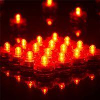 battery tea lights - Underwater Lights LED Candle Lights Submersible Tea Light Waterproof Candle Underwater Tea Light Sub Lights Battery Waterproof Night Light