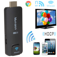 Wholesale cheapest price Mini Measy A2W Wireless Miracast Android TV Dongle WiFi HDMI Display HDTV Receiver HMP_504