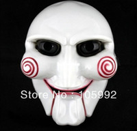 Wholesale Masquerade Horror Scary party mask Halloween Mask Party Mask Saw theme of the film the mask of choice theme Party ornament
