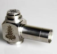 350mAh Adjustable  Hammer pipe Mod Kit E cigarette E pipe Mod Mechanical Hammer battery body for 510 thread atomizer electronic cigarette PROMOTION