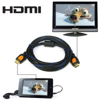 Wholesale 1 M Double Shielded Male to Male AV HDMI Cable for PS3 DVD HDTV