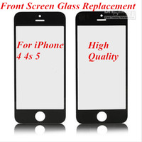 For Apple iPhone   High Quality OEM Front Screen Glass Replacement For iPhone 4 4s 5