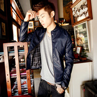 Other Men L 2013 new autumn coat PU leather short paragraph Korean version of the influx of men and men's fashion Slim machine wagon jacket