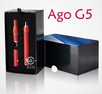 Electronic Cigarette Atomizer  Hot sale Starter Kit eGo Electronic Cigarette Lightweight Ago G5 Vaporizer LCD Display E Cigarette 650mAh