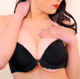 Wholesale Silicone artificial breast forms for women huge boobs silicone skin perfect breast size