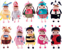 Wholesale New Arrive Lovely Baby Angela Doll backpack Children School bags Metoo bags