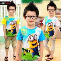 Wholesale boy T shirts boy Summer clothes Cartoon Short sleeve T shirt boy clothes Kids Clothing CCX