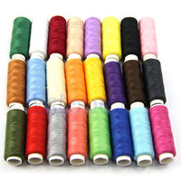 Wholesale New Spools set Mixed Colors Polyester All Purpose Sewing Threads Cones Set Hot