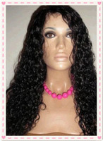 Wholesale Top quality virgin brazilian hair glueless front lace wig full lace wig unprocessed human hair black woman