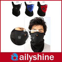 Wholesale New Windproof Neck Guard Warm Half Face Mask for ski bicycle motorcycle snowboard colors