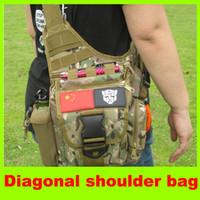 Duffel Bags Unisex Plain 2014 new Multifunction tactical SLR bag, single shoulder bag,Andai saddle bag tactical military equipment high quality L