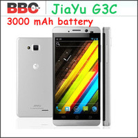 JiaYu G3C 1.3 Ghz MTK6582 Quad Core 4.5quot; HD IPS Gorilla Glass 2 Android 4.2 3000mah Jiayu G3 cellulare Android