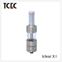 Replaceable 3.0ml pyrex glass 2014 new product innokin iclear xi atomizr pyrex glass iclear x.i tank iclear x.i innokin fit for itaste 134