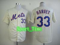 Wholesale Matt Harvey Baseball Jerseys Mets Blue Adult Baseball Jerseys High Quality Cheap Stitched Outdoor Jersey Hot Cool Base Pinstripe Jerseys