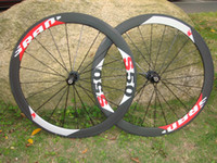Wholesale 2014 sram full carbon wheels mm C full carbon bicycle wheel red letter carbon bike wheelsets