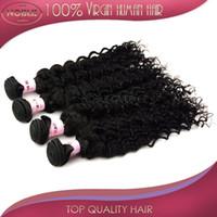 Brazilian Hair Deep Wave Under $30 Brazilian Virgin Hair Deep Wave Hair Extendions 2Pcs Lot Human Hair Extension 5A Grade Natural Color Remy Hair Weave Can be dyed bleach