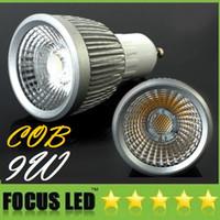 Wholesale Hot Sales COB W Led Spotlights Lumens Angle GU10 E27 E26 MR16 GU5 Dimmable Led Bulbs Light Warm Cool White V V CE ROHS CSA