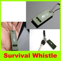 survival whistle  audio earthquake - 2014 new Survivors multiple audio survival whistle Earthquake Survival whistle Outdoor lifesaving whistle Camping Hiking Survival Whistle L