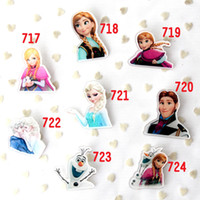 Wholesale 1405L new frozen bags badge brooch pendant