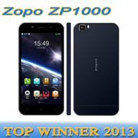 Zopo 5.0 Android 2014 In Stock Original MTK6592 Octa Core ZOPO ZP1000 Ultrathin Smartphone MTK6592 8 Core 5 Inch 1GB 16GB Android 4.2 OTG 3G WCDMA 5MP+14MP