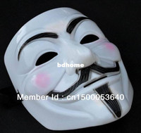 aa cosplay - 2014 V for Vendetta party mask Halloween Mask Party Face Mask Halloween Mask Dance cosplay mask AA