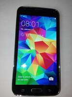 Wholesale 32GB S5 Quad Core Mtk6582 unlocked phones I9600 G900F Air Gesture Android GB Ram MP Camera Google Play Store pixel GPS