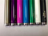 1600mah Adjustable  2014 ego-c twist battery electronic cigarette 1600mah vision spinner large capacity for vivi nova V2 CE4 CE5 Mt3 X9 H2 DHL free