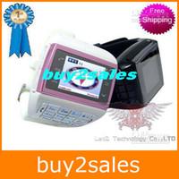 Wholesale HOT Sale DHL Free VE77 Watch Phone Dual SIM Card Watchphone VE Quad Band Arabic Phone Camera MP4 FM sets