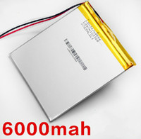 Wholesale 3 V mAH mm Polymer lithium ion battery CUBE U35GT DUAL CORE U35GT QUAD CORE TABLET PC Battery