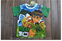 Wholesale New Arrival Summer amp Autumn Children Boys Tshirt Short Sleeve Cartoon T Shirt Comfortable Shell Fabric Pure Cotton Kids Childs Tees G0212