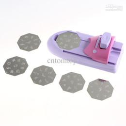 Wholesale Nail Art DIY Pattern Printing Manicure Machine Stamp Stamper Tool Set H8020