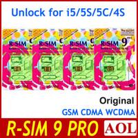 Unlocking Card mobile cdma - Fashion Original R SIM RSIM9 R SIM9 PRO Unlock for iphone s c g s IOS X GSM CDMA WCDMA japan Domoco ATT Verizon UK T mobile
