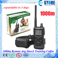 Wholesale expandable to dogs LCD m Remote dog Shock Training Collar with LCD Display wu