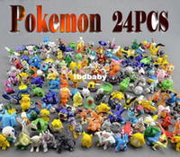 Wholesale HOT Brand New Cute Pokemon Monster Mini figures toys cm sets in Random best