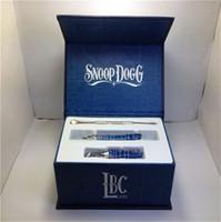 Wholesale 2014Snoop Dogg blueWax herbal dry herb atomizer Science LBC dry herb vaporizer pen vapor cigarettes kits DHL