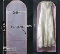 Wholesale Bridal wedding prom Garment Bag storage bag DUST BAG cleaning bag bags of B505001